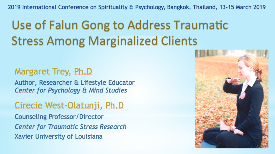 Addressing Traumatic Stress with Falun Gong