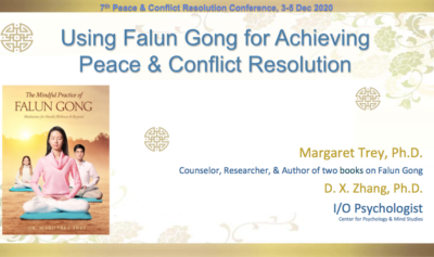 Falun Gong for Achieving Peace
