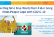 Falun Gong counters COVID-19